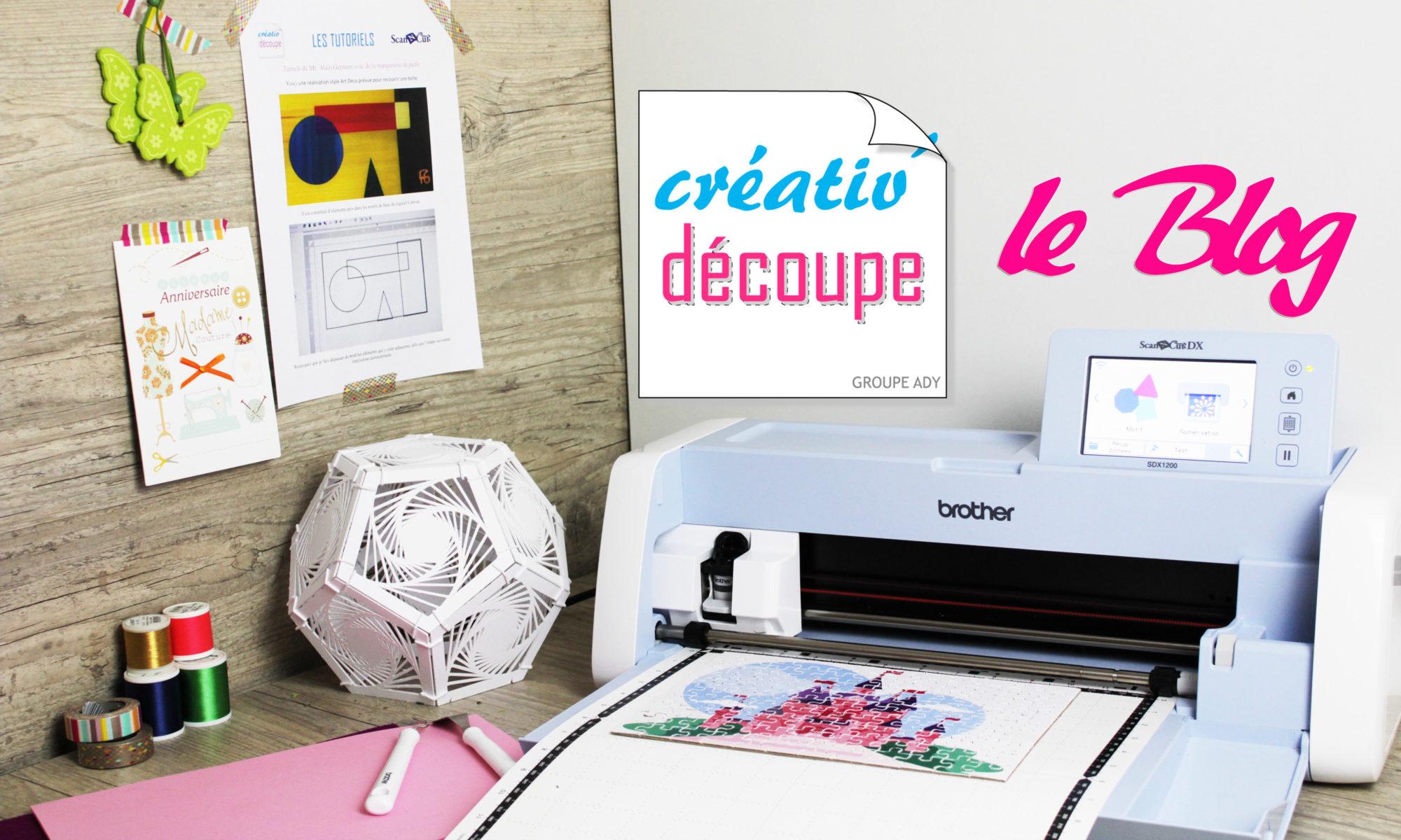 Créativ Découpe, le blog