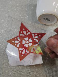 Creativ-decoupe.com pose flex cricut porcelaine