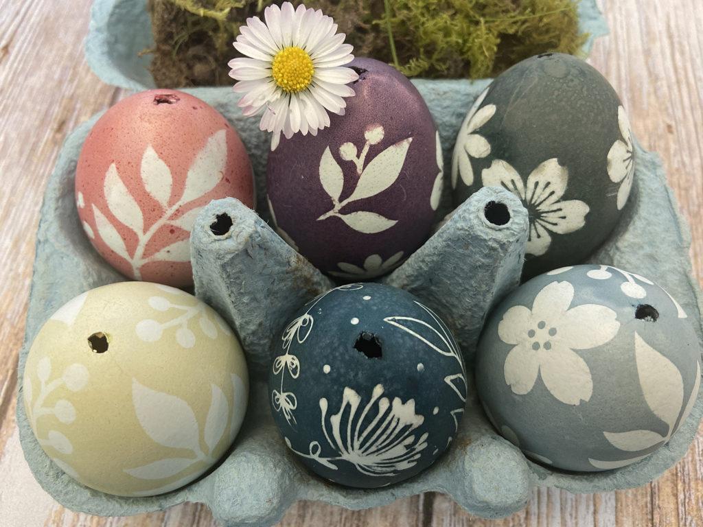 Les jolis oeufs de Pâques